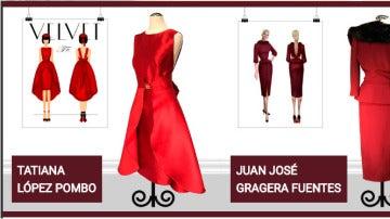 Los tres diseños ganadores del concurso de Velvet