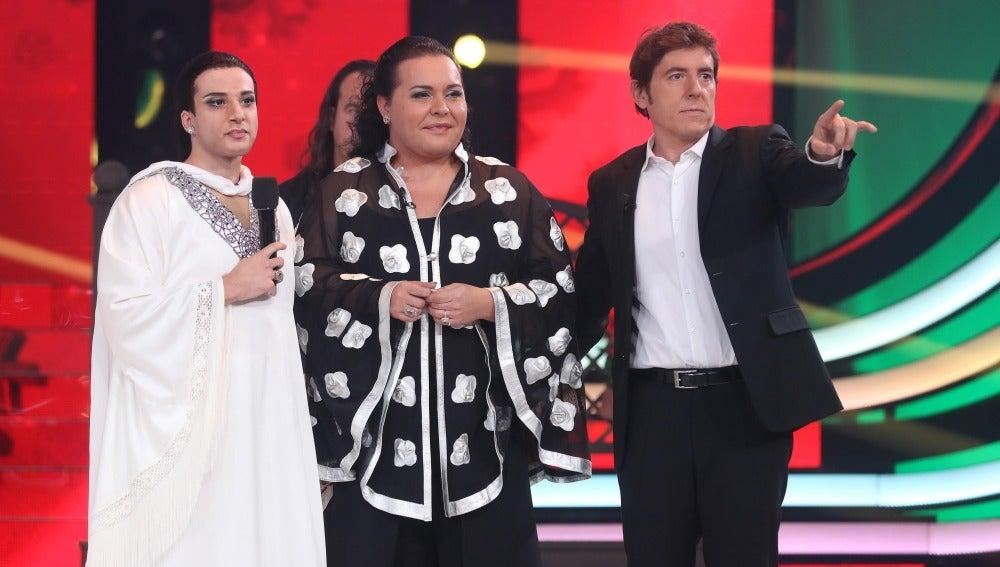 Blas Cantó emociona al jurado con su espectacular imitación de Falete