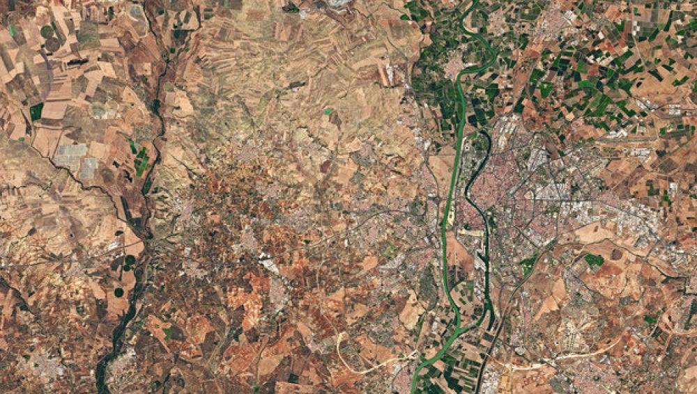 Una fotografía de Sevilla, elegida como la imagen de la semana por la ESA