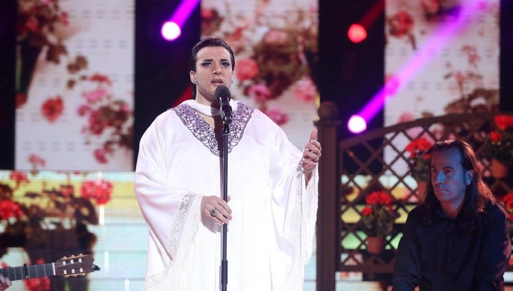 Blas Cantó, explosión de pasión y fuerza desmedida como Falete