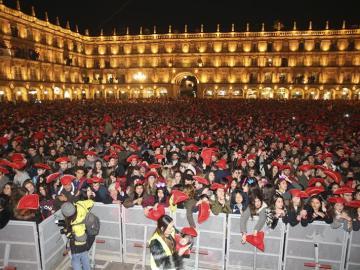 Nochevieja universitaria de Salamanca