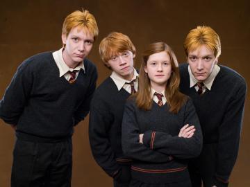 Los hijos de la familia Weasley (¡y no están todos!)