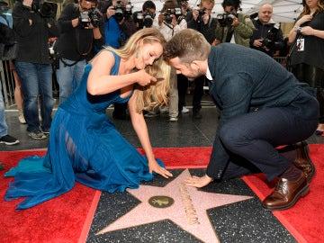 Blake capturando la estrella de su marido