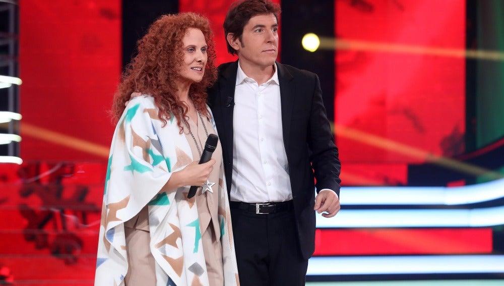 """Lolita, a Rosa López: """"Estás en el buen camino de ganar una gala"""""""