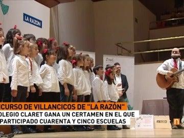 Frame 7.758333 de: El colegio Claret de Madrid gana el concurso de villacincos del periódico 'La Razón'