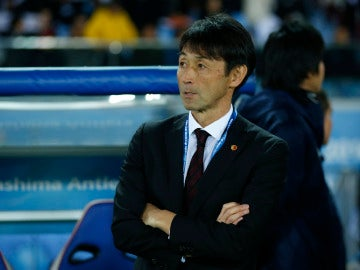 Masatada Ishii, durante el partido ante el Real Madrid