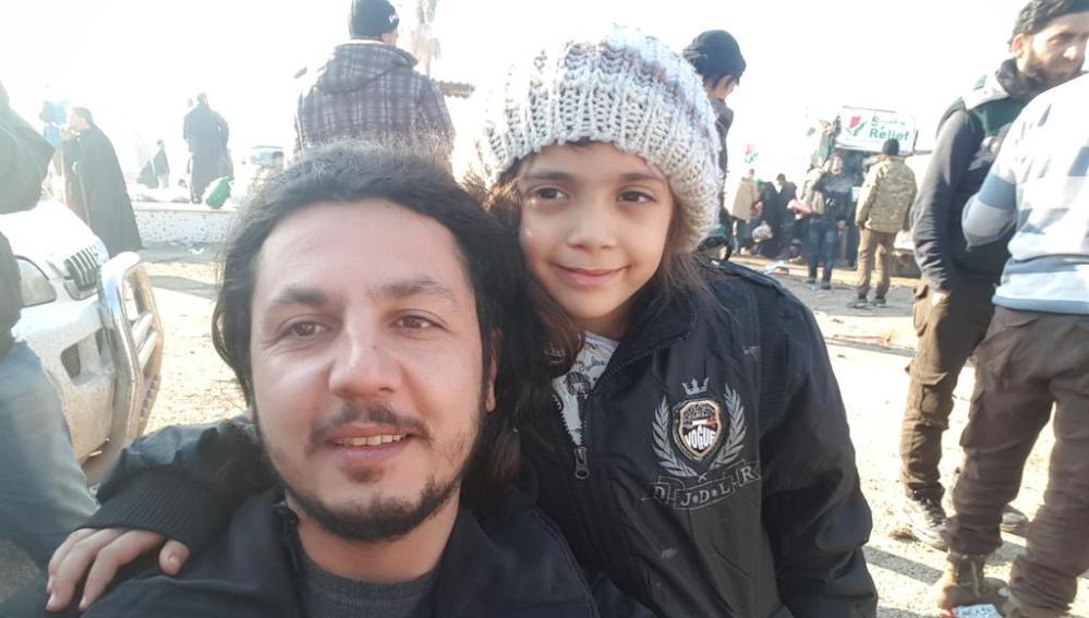 Bana Alabed, la niña siria de siete años ya evacuada de Alepo