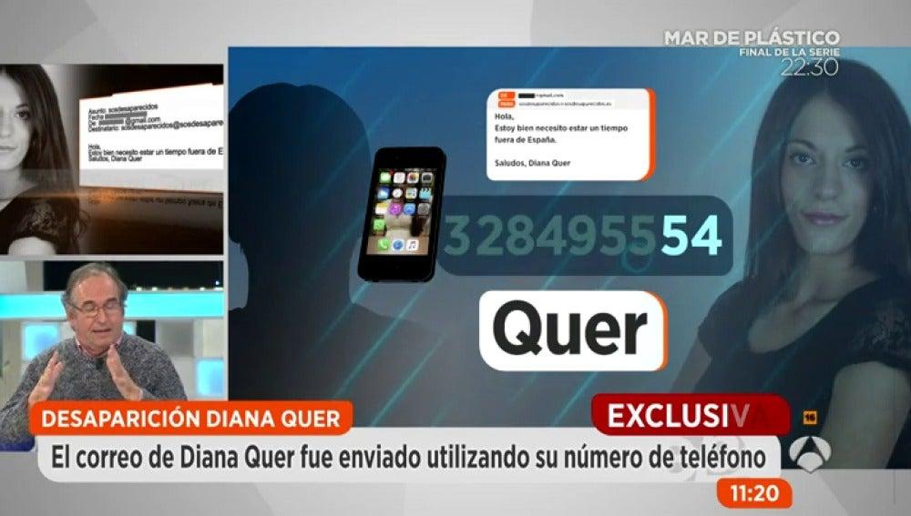 Antena 3 tv el correo electr nico firmado por diana quer for Espejo publico diana quer