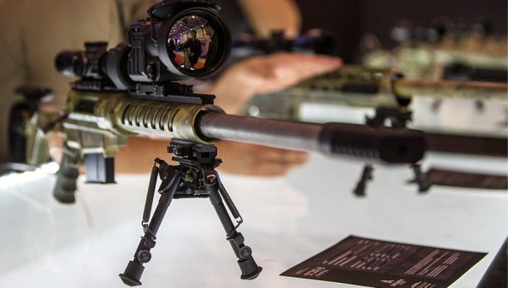 Un rifle de asalto