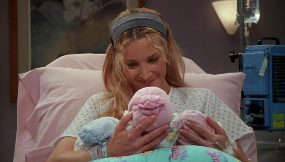 Los trillizos de Phoebe en 'Friends'