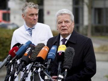 El presidente alemán, Joachim Gauck