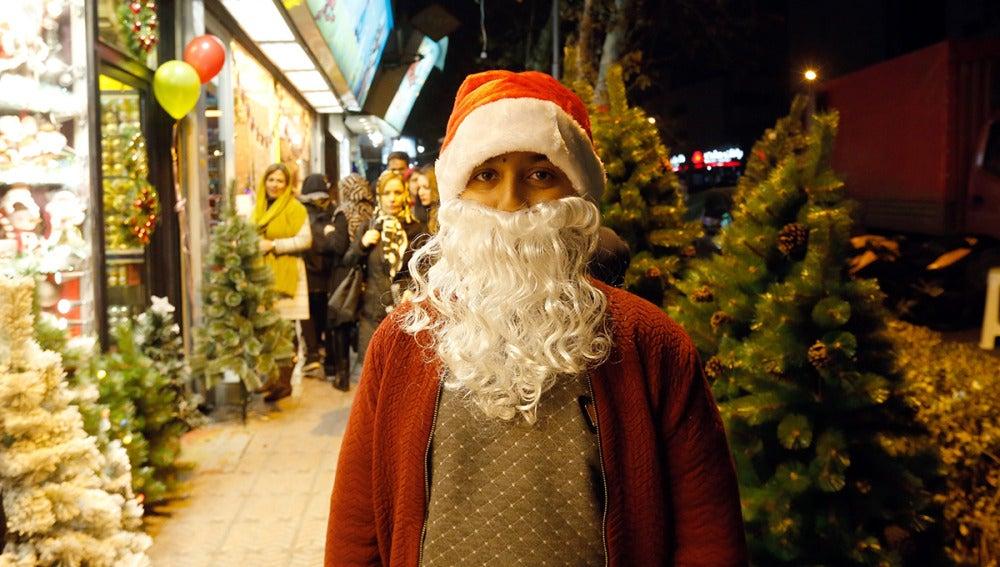 Navidad en las calles de Tehran (24-12-2016)