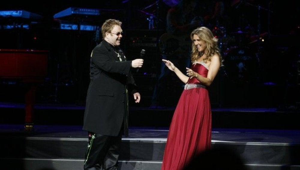Celine Dion y Elton John