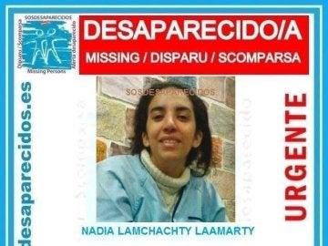 Joven desaparecida en Vallecas