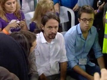 Frame 19.709545 de: Los pablistas acusan a Errejón de fortalecerse tratando de debilitar a Iglesias