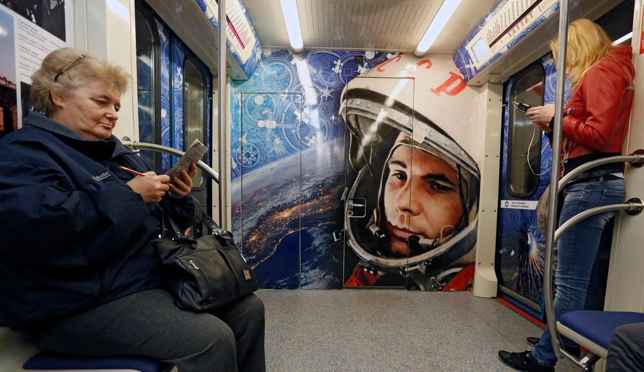 Imagen de archivo del metro de Moscú