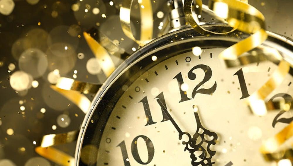 Reloj nochevieja
