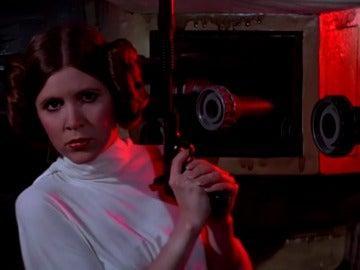 Frame 0.588292 de: Muere la actriz Carrie Fisher, la princesa Leia de 'Star Wars'
