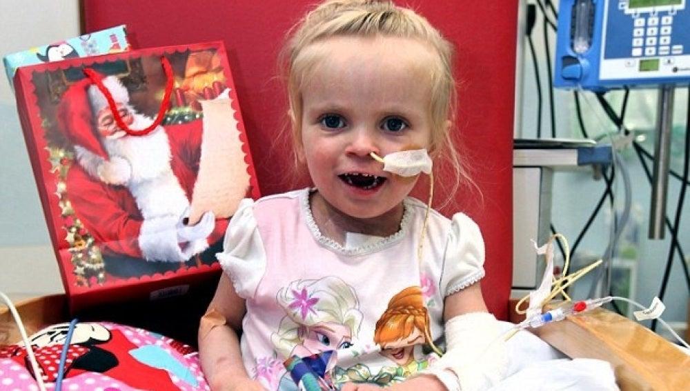 Sophie Maxwell, tras someterse al trasplante de corazón