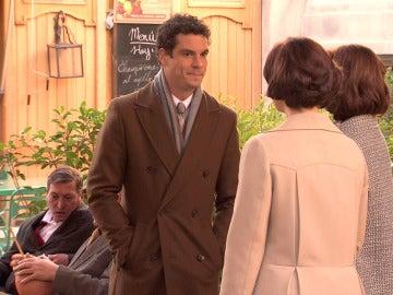 Rafael tiene un tenso encuentro con Rosalía y Marta