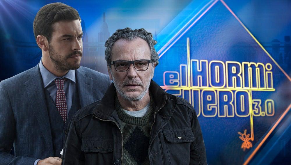 Mario Casas y José Coronado presentan su nueva película, 'Contratiempo', en 'El Hormiguero 3.0'