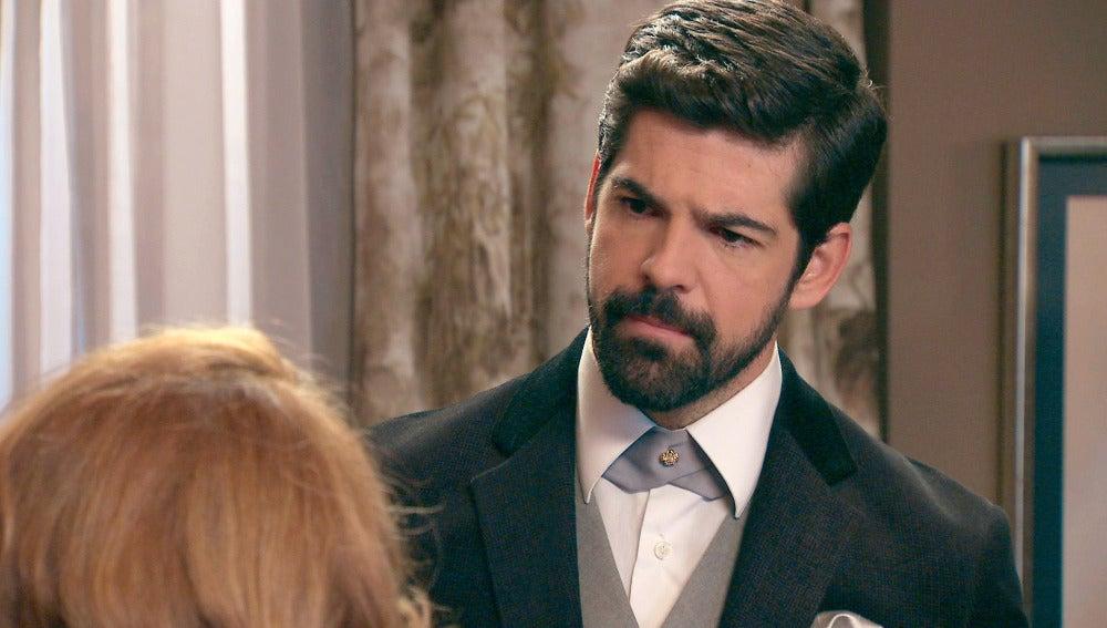 Alonso desahoga su rabia con su madre tras descubrir la infidelidad de Marta