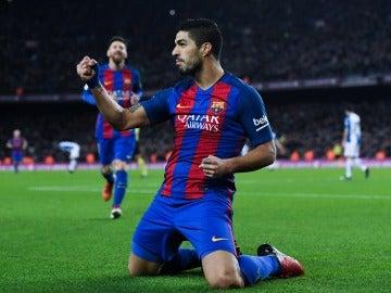 Luis Suárez, nombrado máximo goleador mundial del 2016 por la IFFHS al sumar 40 goles