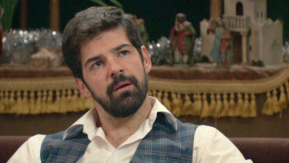 Alonso presiona a Ginés para contarle la verdad sobre la relación de Marta y Rafael