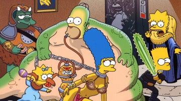 'Los Simpson' como 'Star Wars'