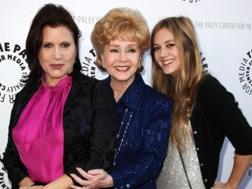 Carrie Fisher, Debbie Reynolds y Billie Lourd