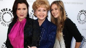 Carrie Fisher, Debbie Reynolds y Billie Lourd