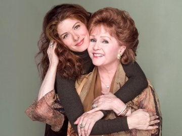 Debra Messing y Debbie Reynolds