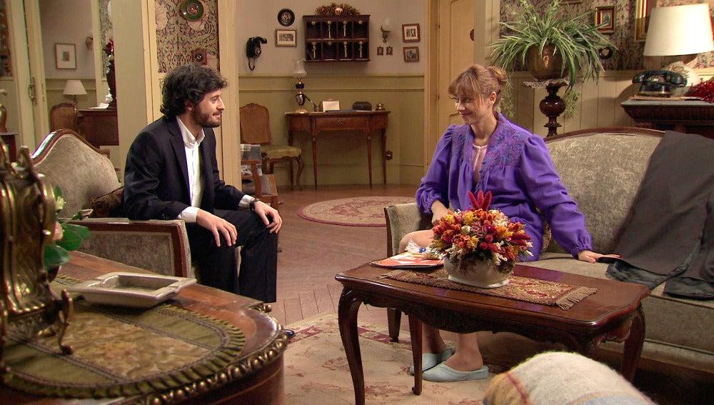Jaime propone a Henar a que sea su acompañante en la boda de Marta y Alonso