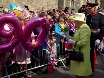 Frame 14.152852 de: Preocupación en el Reino Unido por la salud de la reina de Inglaterra