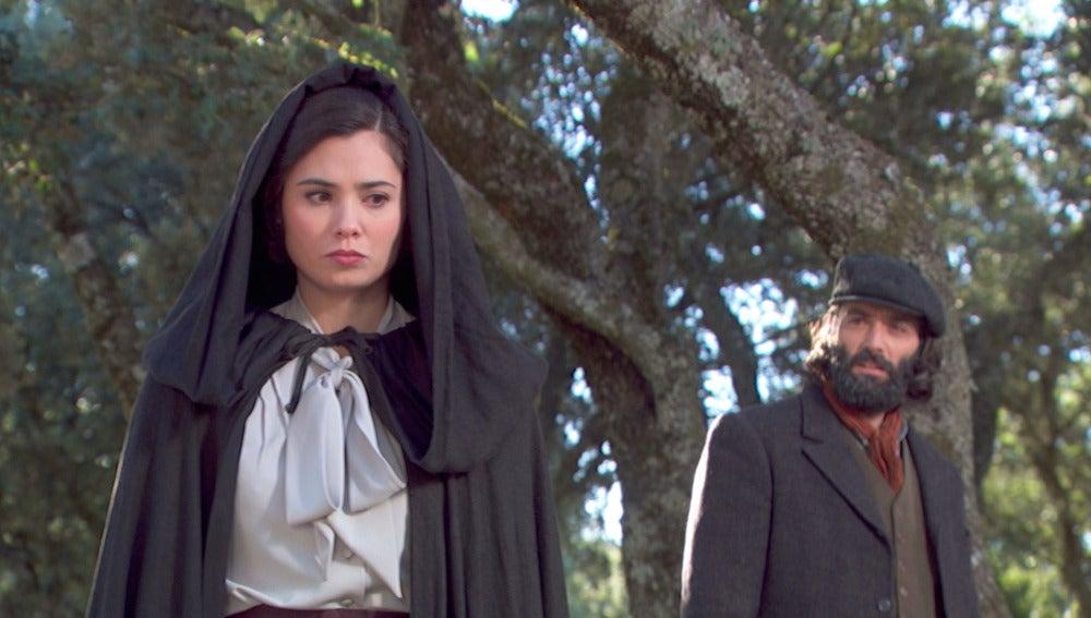 María se encuentra con Severiano