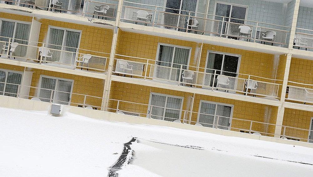 Imagen de archivo de un balcón