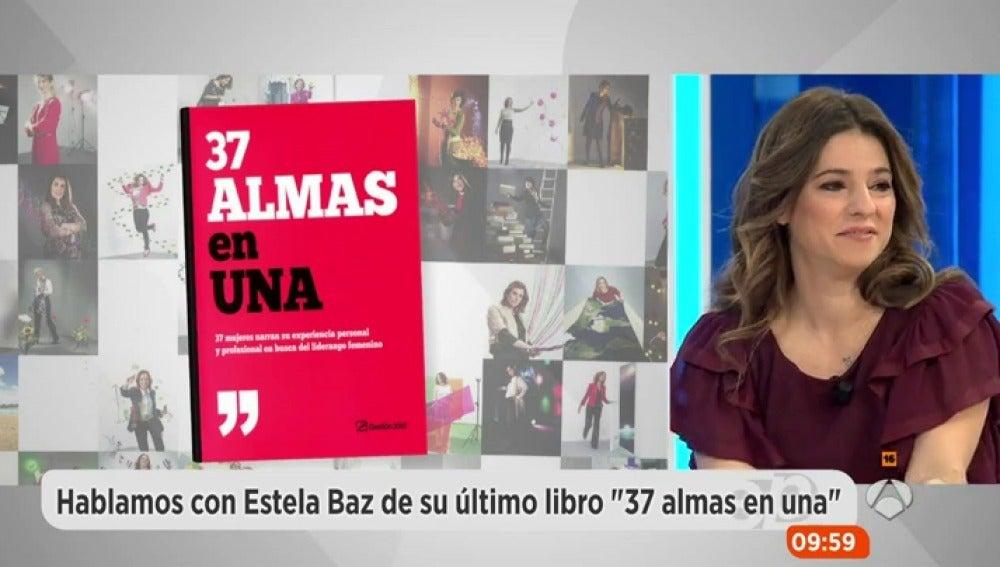 Estela Baz, presenta su libro '37 almas'