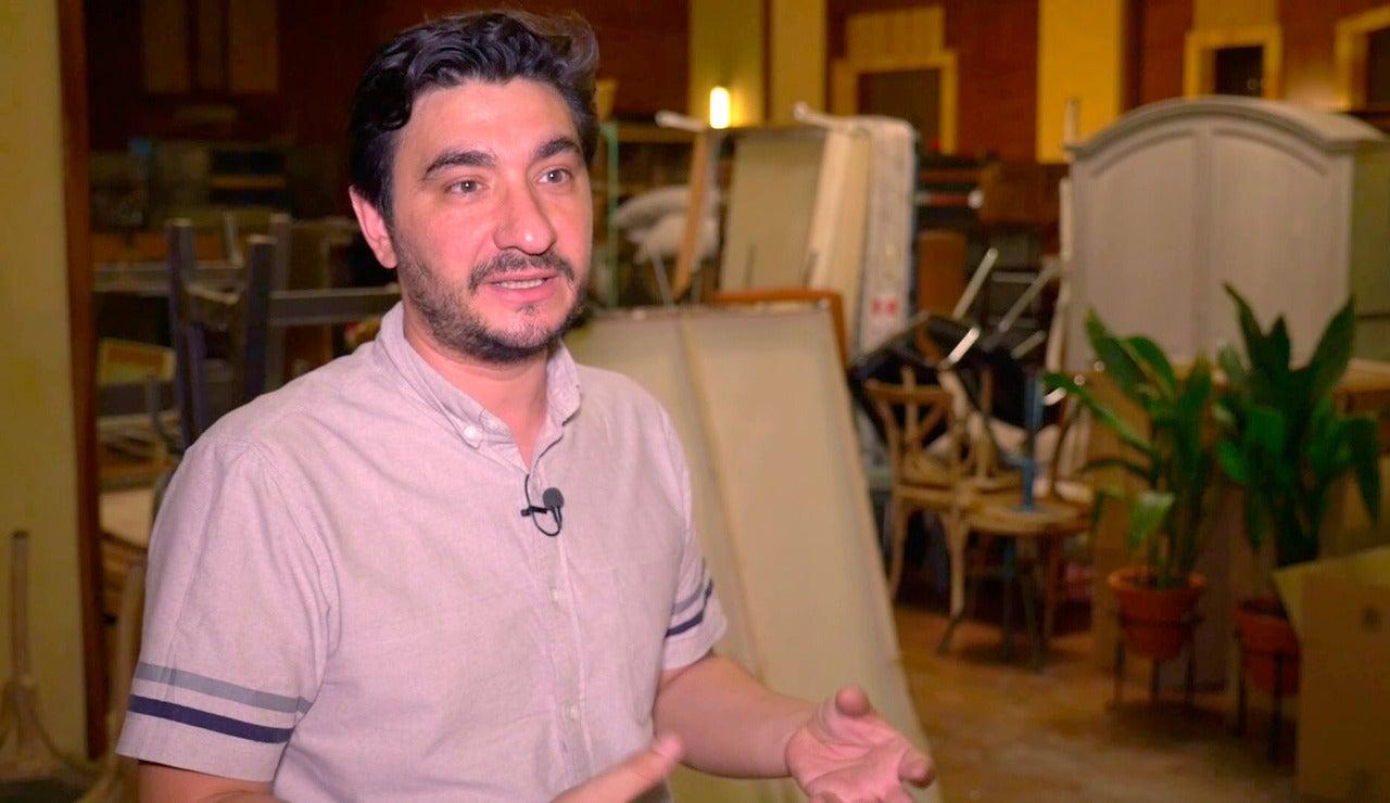 """Jorge de Soto: """"Ver vacío el decorado que construimos es duro"""""""