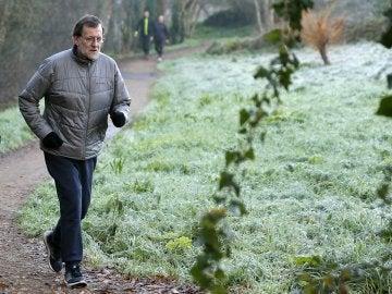 Mariano Rajoy realiza la Ruta da Pedra e da Auga