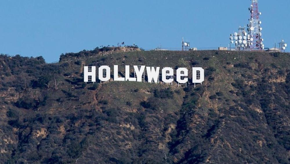 El cartel de Hollywood, cambiado a Hollyweed