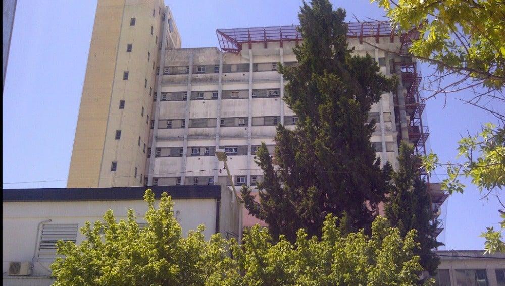 Hospital donde falleció la pequeña