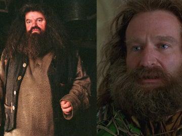 ¿Cómo hubiese sido Hagrid interpretado por Robin Williams?