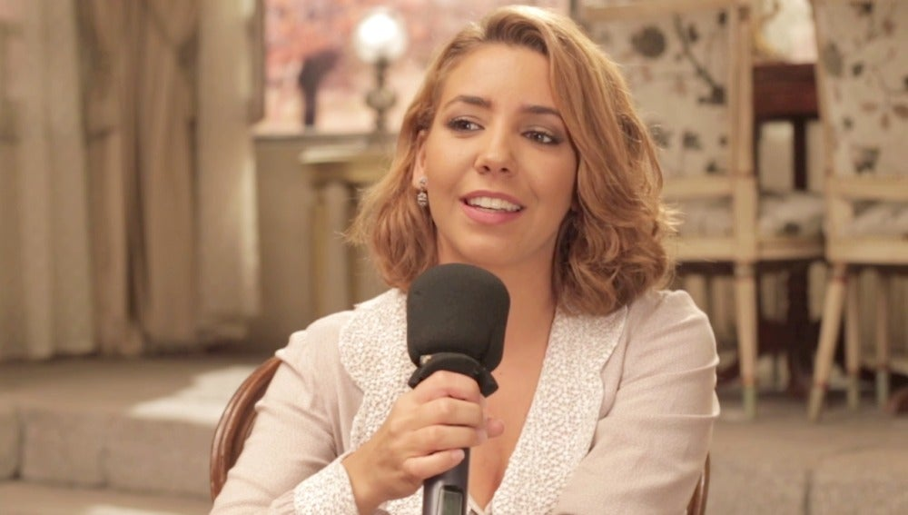 """Sandra Cervera: """"Volver a rodar con Loreto ha sido una bomba"""""""