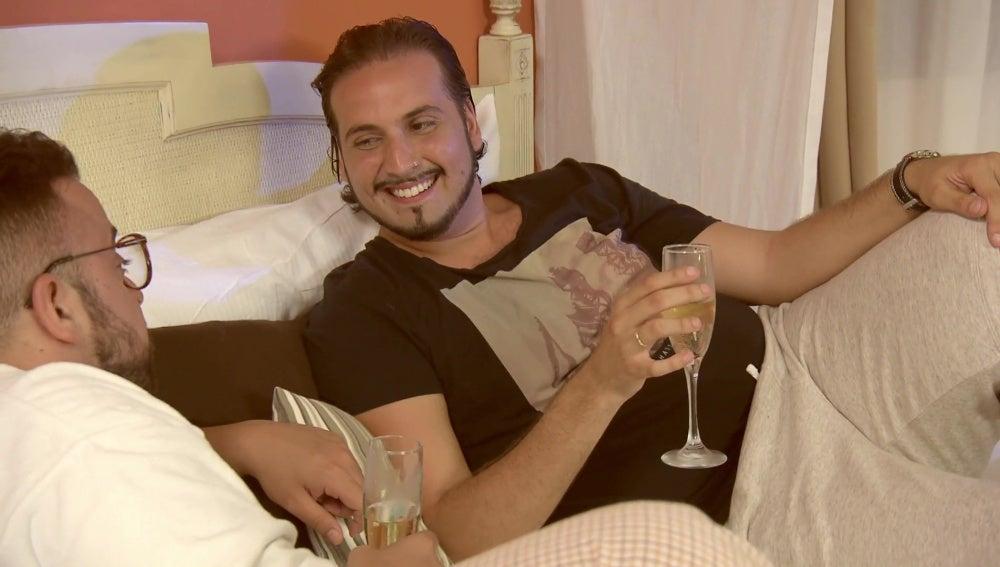 """Jesús Carrillo ante su noche de bodas: """"Tengo miedo"""""""