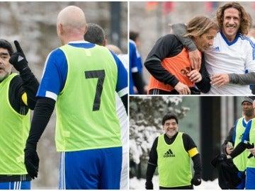 Maradona, Infantino, Puyol o Salgado, en el amistoso antes de 'The Best'