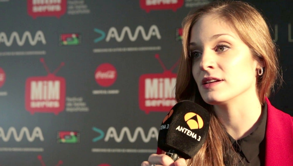 """Meritxell Calvo: """"Lara y Álex se verán unidos por la necesidad de información"""""""