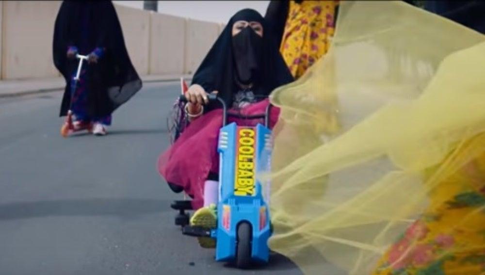 Videoclip reivindicativo sobre los derechos de las mujeres saudíes