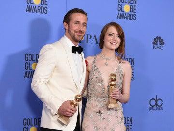 Ryan Gosling y Emma Stone, protagonistas de 'La La Land'