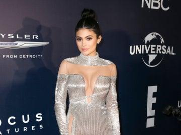 Kylie Jenner en la fiesta de NBC