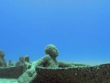 Museo submarino en Lanzarote